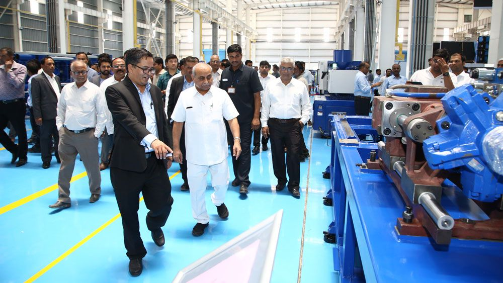 GRAND OPENING OF NEW FACTORY OF HAITIAN HUAYUAN INDIA