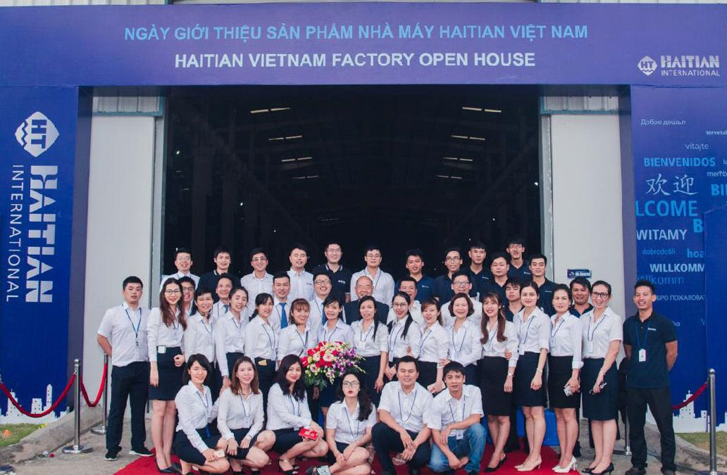 海天越南举行首届工厂开放日