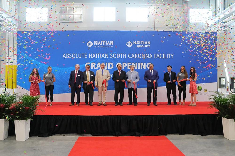 Absolute Haitian美国南卡工厂盛大开业